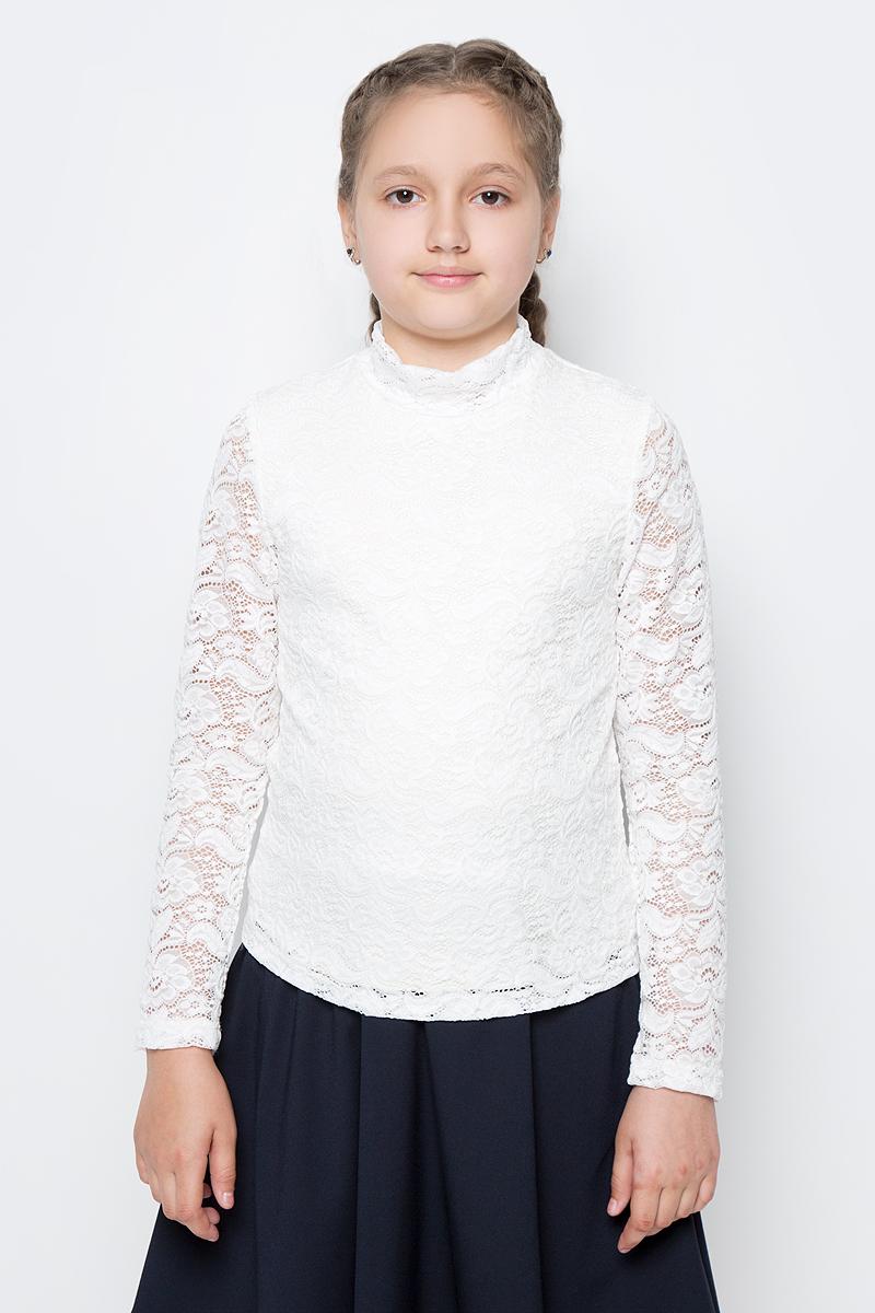 Водолазка для девочки Nota Bene, цвет: молочный. CJR27037_17. Размер 152