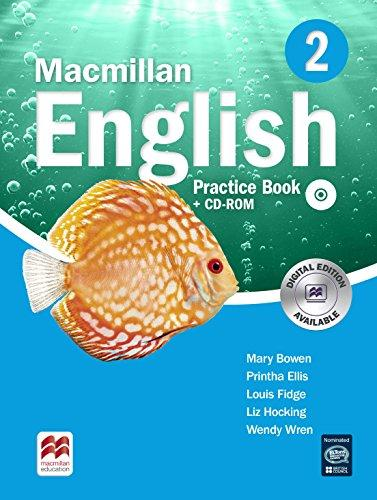 Macmillan English 2: Practice Book (+ CD-ROM) english language teaching