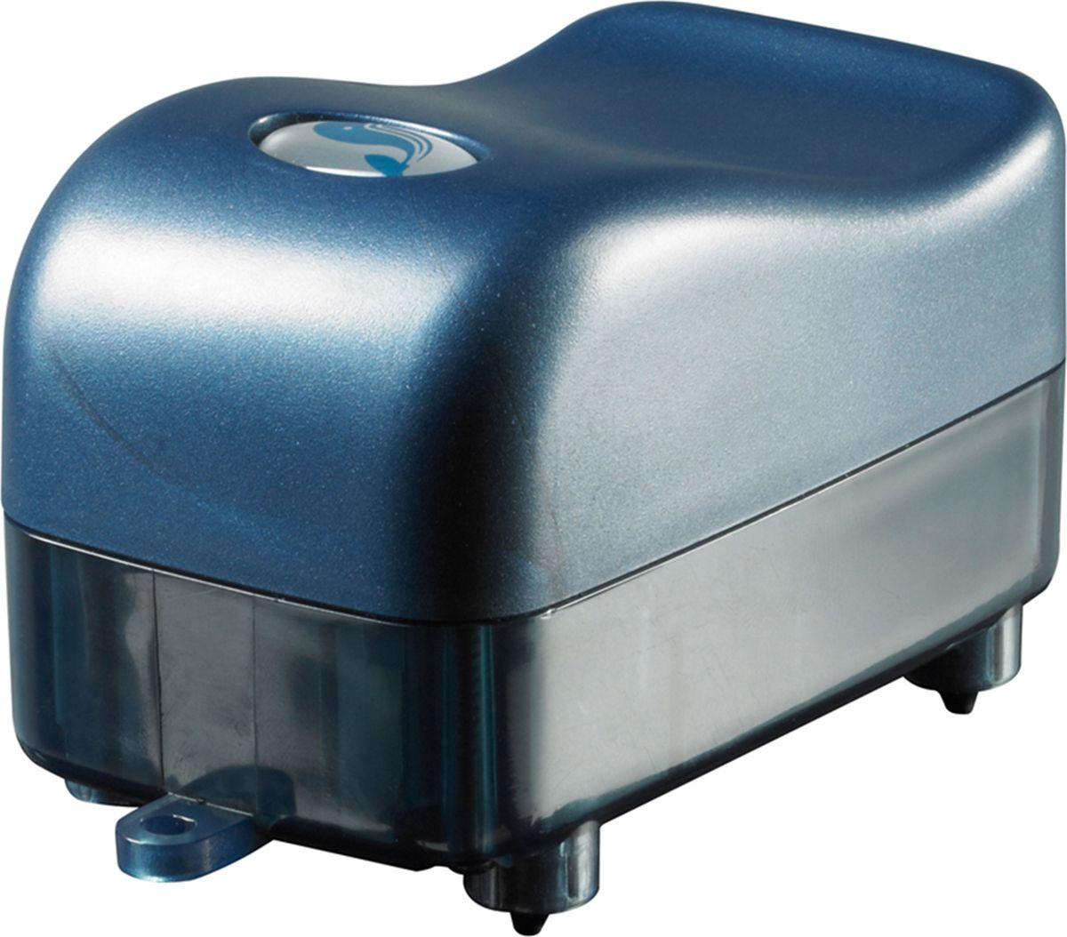 Компрессор аквариумный Sicce Airlight 1500, одноканальный, 90 л/ч91480Компрессор Sicce Airlight 1500 обеспечит ваш аквариум кислородом. Он выполнен из пластика. Компрессор можно использовать и для других целей, например в пузырьковых колонах, в прудах, нано-аквариумах.Он компактен и может быть размещен как сверху аквариума так и на стене сзади аквариума. Устанавливая компрессор ниже уровня воды, на пример в тумбе или около аквариума, не забудьте купить обратный клапан, который вы установите на воздушный шланг вашего компрессора. Компрессор должен работать постоянно. Он достаточно тихий и имеет резиновые ножки.В комплекте: воздушный шланг и распылитель.