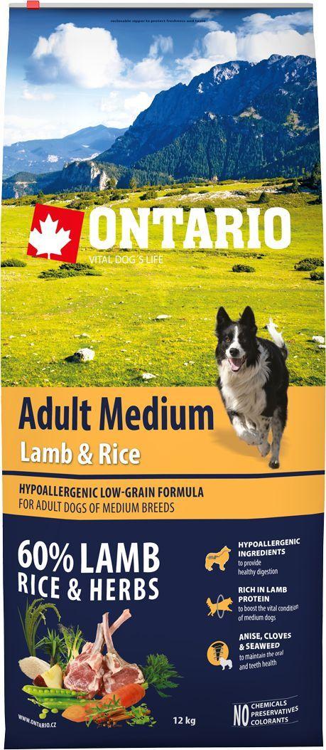 Корм сухой Ontario Adult Medium для собак средних пород, с ягненком и рисом, 12 кг46617Полнорационный сухой корм Ontario Adult Medium имеет гипоаллергенную формулу с низким содержанием зерновых для собак средних пород. Сбалансированный состав для здорового функционирования всего организма. Высокое содержание белка из мяса ягненка для поддержания здоровья и хорошего самочувствия собаки. Гипоаллергенные ингредиенты обеспечивают здоровое пищеварение. Пивные дрожжи содержат витамины группы В и ферменты, способствуют росту полезных бактерий в кишечнике. Дрожжи улучшают состояние кожи и шерсти животных.Лососевый жир богат незаменимыми жирными кислотами Омега 3, оказывающими благотворное влияние на все органы и системы организма, особенно на шерсть животных. Омега 3 и Омега 6 жирные кислоты являются важными компонентами для поддержки функций сердца. Яблоки богаты клетчаткой (пектином), способствующей пищеварению и выводящей токсины из кишечника, а также являются источником витаминов и антиоксидантов.Содержащийся в корме специальный микс трав и специй, особенно аниса, гвоздики, смеси морских водорослей способствует поддержанию гигиены полости рта и здоровья зубов.Маннанолигосахариды естественным образом поддерживают работу кишечника и улучшают общее состояние здоровья животных.Состав: дегидрированный ягненок (22%), рис (21%), груша, рисовые отруби (10%), куриный жир, индейка (7%), сушеные яблоки, пивные дрожжи, рыбий жир, сушеная морковь, маннанолигосахариды (180 мг/кг), фруктоолигосахариды(120 мг/кг), смесь морских водорослей, фенхель, тимьян, корица, анис, гвоздика, розмарин и юкка (120 мг/кг).Гарантированный анализ: белок 25,0%, жир 15,0%, влага 10,0%, зола 6,5%, клетчатка 2,5%, кальций 1,5%, фосфор 1,2%, натрий 0,1%, магний 0,08%.Добавки: витамин A (E672) 20 000 IU, витамин D3 (E671) 1 800 IU, витамин E (альфа-токоферол) (3a700) 500 мг, витамин B1 1,2 мг, витамин B2 4,5 мг, витамин B6 (3a831) 1,2 мг, витамин B12 0,05 мг, цинк (E6) 100 мг, железо (E1) 88 мг, марганец (E5