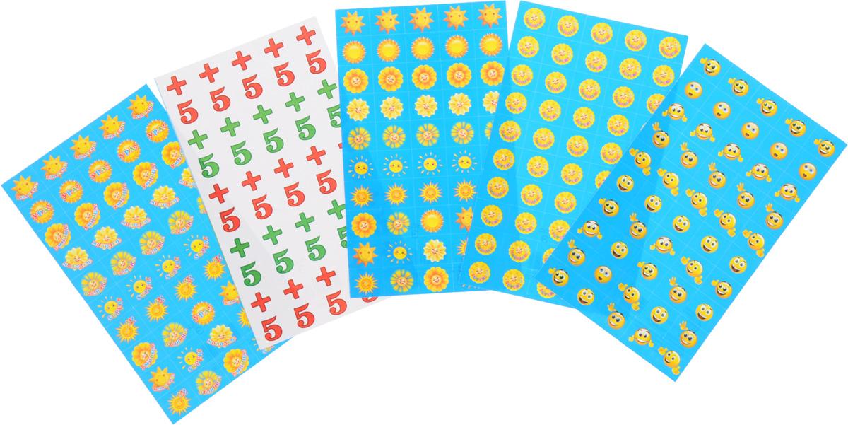 Комплект наклеек для поощрения детей