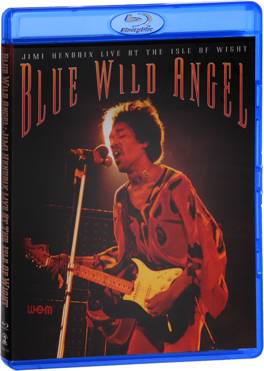 Jimi Hendrix: Blue Wild Angel: Jimi Hendrix Live At The Isle Of Wight (Blu-ray) the berlin concert domingo netrebko villazon blu ray