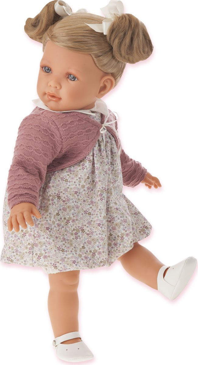 Juan Antonio Кукла Аделина блондинка кукла antonio juan кукла белла в шляпке блондинка 2808p