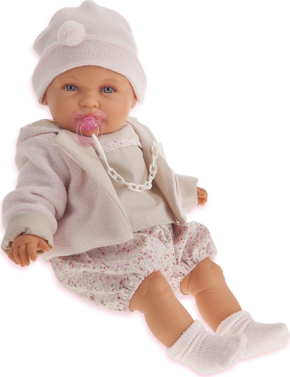 Juan Antonio Кукла Роза цвет одежды бежевый кукла yako m6579 6
