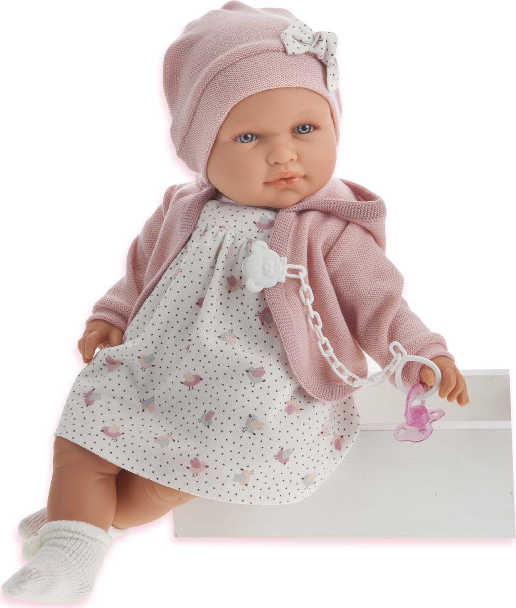 Juan Antonio Кукла Роза цвет одежды розовый куклы antonio juan кукла рамон в синем озвученная 40см