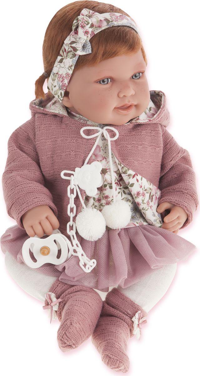 Juan Antonio Кукла Саманта цвет одежды розовый juan antonio кукла младенец карла в чемодане цвет одежды розовый