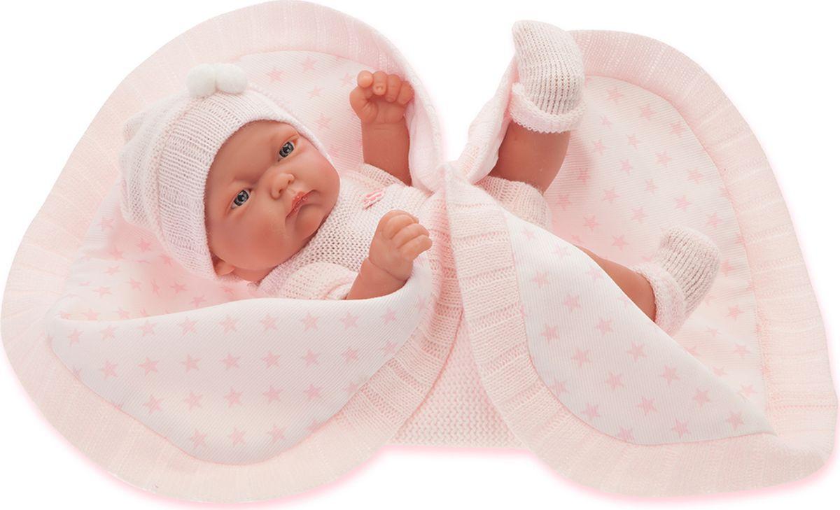 Juan Antonio Пупс Карла цвет одежды розовый juan antonio кукла младенец карла в чемодане цвет одежды розовый