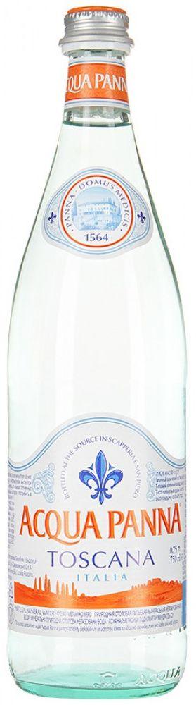 Acqua Panna вода минеральная, негазированная гидрокарбонатная магниево-кальциевая, 0,75 л acqua natia вода минеральная 0 5 л