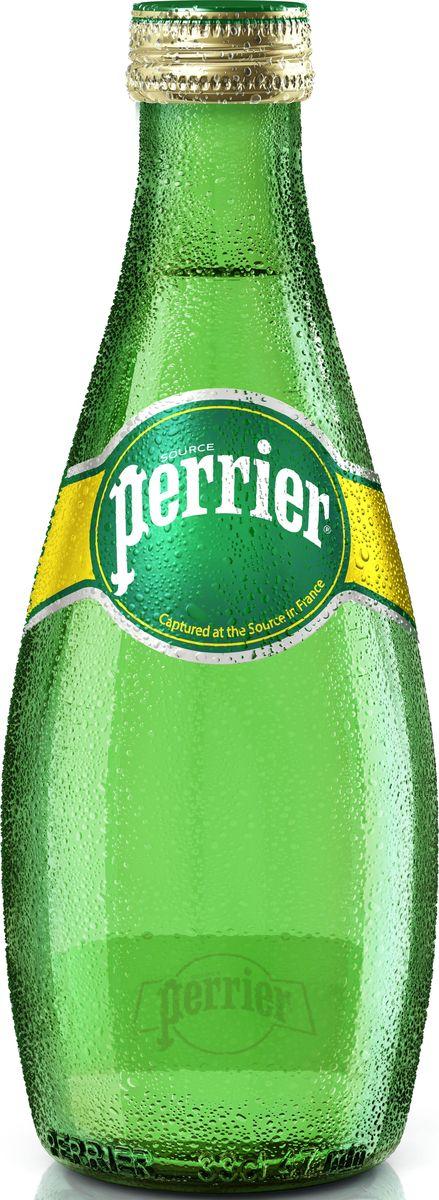 perrier Perrier вода минеральная газированная гидрокарбонатно-кальциевая, 0,33 л