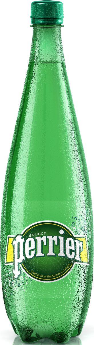 perrier Perrier вода минеральная газированная гидрокарбонатно-кальциевая, 1 л