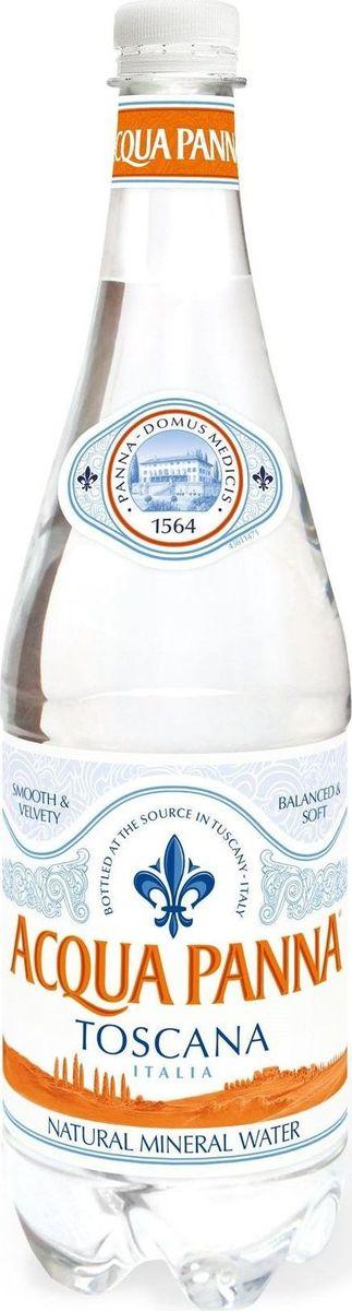 Acqua Panna вода минеральная негазированная гидрокарбонатная магниево-кальциевая, 1 л acqua natia вода минеральная 0 5 л