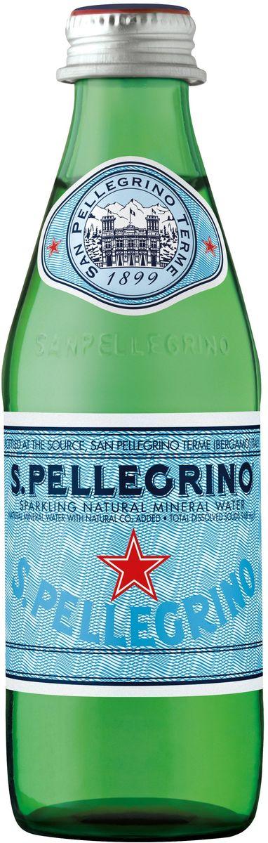 San Pellegrino вода минеральная газированная гидрокарбонатно-сульфатная магниево-кальцевая, 0,25 лNST-4903901S.Pellegrino – минеральная вода натуральной газации, которая добывается из термальных источников итальянской коммуны Сан Пеллегрино Терме (San Pellegrino Terme), расположенной в предгорье Альп на севере Италии. Источник стал популярен еще в начале 16-го века. На его воды съезжалась знать со всей Европы благодаря великому гению эпохи Ренессанс Леонардо Да Винчи, который первым создал карту расположения источника Сан-Пеллегрино. Каждая капля воды S.Pellegrino, рожденная в итальянских Альпах, проходит 30-тилетний путь под землей, насыщаясь минеральными веществами. Её бережно разливают в бутылки прямо на источнике с 1899 года. S.Pellegrino – это настоящий символ Италии и совершенное выражение итальянского образа жизни.100% натуральная водаНе подвергается химической обработкеТонкий вкус и сбалансированное содержание газа прекрасно подчёркивают вкус едыМожно употреблять без ограничения и в любом количествеИсточник полностью защищен и охраняется государствомИсточник: Сан Пеллегрино Терме, Бергамо, Италия.