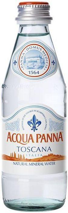 Acqua Panna вода минеральная, негазированная гидрокарбонатная магниево-кальциевая, 0,25 л acqua natia вода минеральная 0 5 л