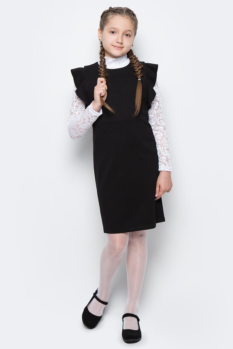 для девочки Gulliver, цвет: черный. 217GSGC5001. Размер 158