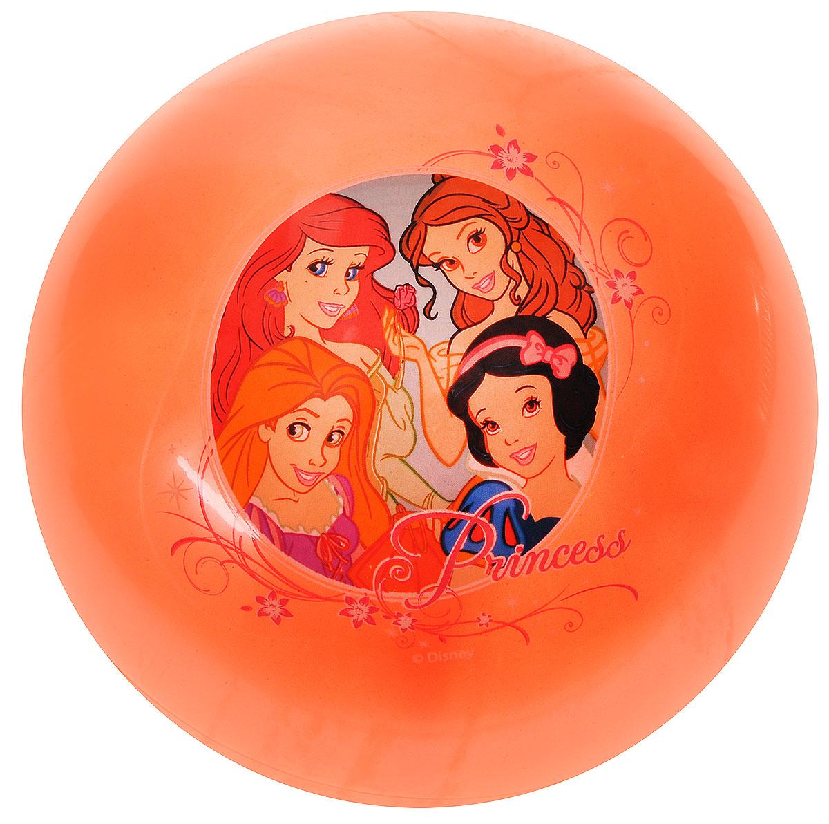 Играем вместе Мяч Принцессы цвет оранжевый 23 см