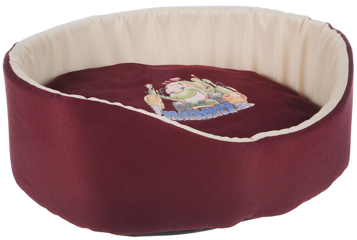 Лежак для животных GLG Картинка, 48 х 35 х 17 смL003/BМягкий лежак GLG Картинка обязательнопонравится вашему питомцу. Он выполнен из хлопка и полиэстера, а наполнитель - из мягкогопоролона. Такой материал не теряет своей формы долгое время. Лежак оснащен мягкой съемной подстилкой. Высокие бортики обеспечат вашему любимцу уют. Мягкий лежак станет излюбленным местом вашего питомца, подарит ему спокойный и комфортный сон, а также убережет вашу мебель от шерсти.УВАЖАЕМЫЕ КЛИЕНТЫ! Обращаем ваше внимание на возможные изменения в дизайне товара - рисунок может отличаться отизображения, представленного на сайте. Поставка осуществляется в зависимости от наличия на складе.