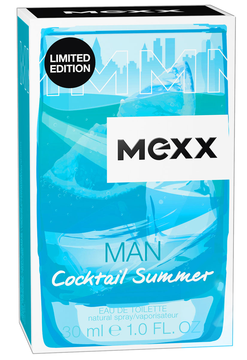 Mexx Cocktail Summer Man М Туалетная вода 30 мл - Парфюмерия