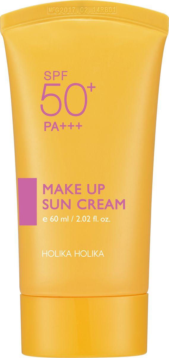 Holika Holika Солнцезащитная база под макияж Сан 2017, 60 мл,20011979Солнцезащитный крем-база Сияющие лучи - прекрасное средство в качестве базы под макияж. Крем делает тон кожи ровным и однородным, увлажняет ее и подготавливает к последующему макияжу. Высокий фактор защиты SPF 50 обеспечивает качественную солнцезащитную маску даже на ярком солнце.