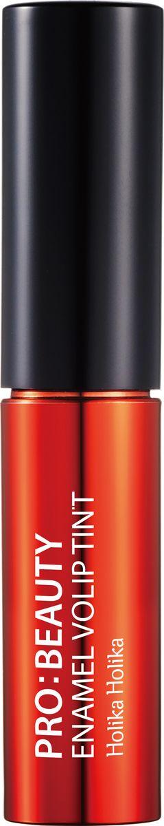 Holika Holika Глянцевый тинт для губ Про:бьюти Энамель, тн RD02. ярко-красный, 4.5 г,20014340Глянцевый тинт для губ Про:бьюти Энамель - это яркий тинт для губ с зеркальным блеском, обладает удивительным эффектом равномерно отражать свет по всей поверхности губ, придавая им объем и совершенные очертания. Обладает ярким цветом, не сушит губы и не подчеркивает шелушение.