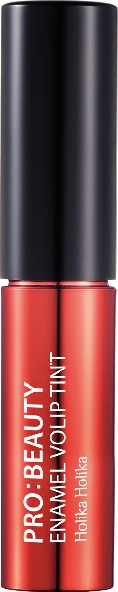 Holika Holika Глянцевый тинт для губ Про:бьюти Энамель, тон CR01, коралловый, 4.5 г,20014343Глянцевый тинт для губ Про:бьюти Энамель - это яркий тинт для губ с зеркальным блеском, обладает удивительным эффектом равномерно отражать свет по всей поверхности губ, придавая им объем и совершенные очертания. Обладает ярким цветом, не сушит губы и не подчеркивает шелушение.