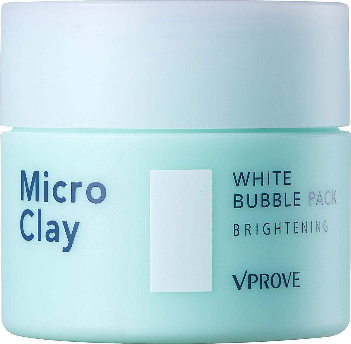 Vprove Пенная маска Микро Клэй с черной глиной, осветляющая, 70 млVMMPM0002Линия разработана с учетом потребностей жирной и комбинированной кожи. Очищающие средства помогут очистить, успокоить и избавить от надоедливого жирного блеска даже самую чувствительную кожу. Линия базируется на основе натуральных ингредиентов без добавления красителей. В состав средств входит микс из белой глины (эффективно абсорбирует себум и смягчает кожу), розовой глины (снимает воспаления и выводит токсины) и черной глины (питает и очищает глубокие загрязнения). Также в состав средств входит бамбуковая и розовая вода, увлажняющая кожу, а экстракт черных бобов питает кожу и заряжает ее антиоксидантами, продлевая молодость и упругость дермы.Маска отлично подойдет для очищения чувствительной кожи. Множество мелких пузырьков эффективно удаляют загрязнения и кожный себум с поверхности кожи, смягчают и делают ее более гладкой.