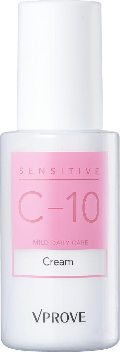 Vprove Крем для чувствительной кожи  Сенситив-10, 45 млVSCCR0001Уникальная линия для ежедневного ухода за гиперчувствительной кожей разработана с учетом всех потребностей дермы. Даже если у вас здоровая кожа внешне, она все равно ежедневно подвергается агрессивному воздействию окружающей среды. Часто люди с чувствительной кожей бояться использовать уходовые средства во избежание аллергических реакции, тем самым подвергают кожу риску - преждевременному старению. Уникальная формула данной линии содержит 10 оптимальных гипоаллергенных ингредиентов и не содержит отдушек и красителей. Все баночки средств выполнены из специального материала, который защищает содержимое от воздействия температур и бактерий.Все средства линии проходили клинические исследования в некоммерческой американской лаборатории EWG (Environmental Working Group). Все ингредиенты в составе линии прошли необходимый порог безопасности. Кроме того, исследования показали, что после 4 недель использования линии: в 90% случаев укрепляется иммунитет кожи, не выявлено признаков раздражения кожи.
