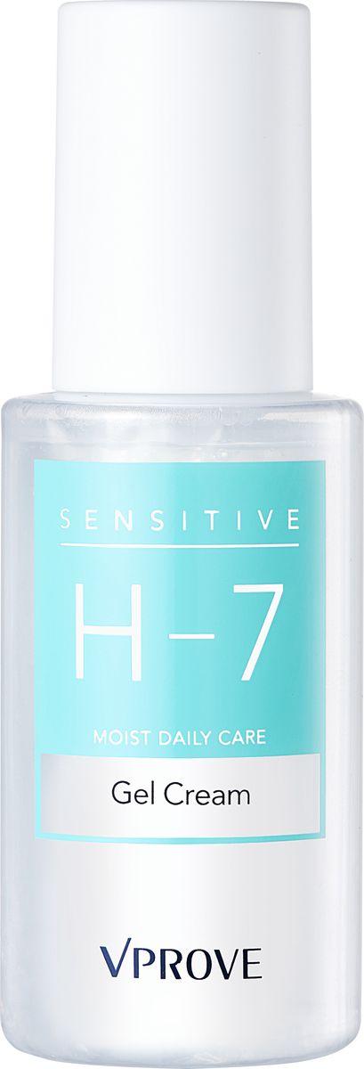 Vprove Крем-гель для чувствительной кожи  Сенситив-7, интенсивно увлажняющий, 45 млVSHCR0001Уникальная линия для ежедневного ухода за гиперчувствительной кожей разработана с учетом всех потребностей дермы. Даже если у вас здоровая кожа внешне, она все равно ежедневно подвергается агрессивному воздействию окружающей среды. Часто люди с чувствительной кожей бояться использовать уходовые средства во избежание аллергических реакции, тем самым подвергают кожу риску - преждевременному старению. Уникальная формула данной линии содержит 7 оптимальных гипоаллергенных ингредиентов и не содержит отдушек и красителей. Все баночки средств выполнены из специального материала, который защищает содержимое от воздействия температур и бактерий.Все средства линии проходили клинические исследования в некоммерческой американской лаборатории EWG (Environmental Working Group). Все ингредиенты в составе линии прошли необходимый порог безопасности. Кроме того, исследования показали, что после 4 недель использования линии: в 90% случаев укрепляется иммунитет кожи, не выявлено признаков раздражения кожи.