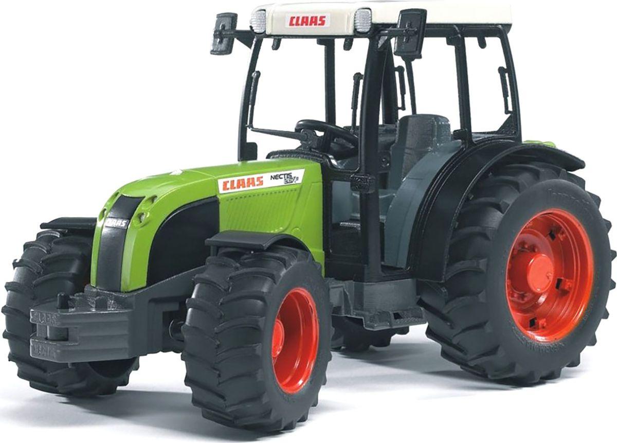 Bruder Трактор Claas Nectis 267 F машины bruder трактор claas nectis 267 f с погрузчиком и прицепом