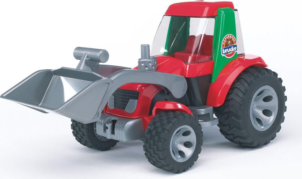 Bruder Трактор-погрузчик Roadmax цена