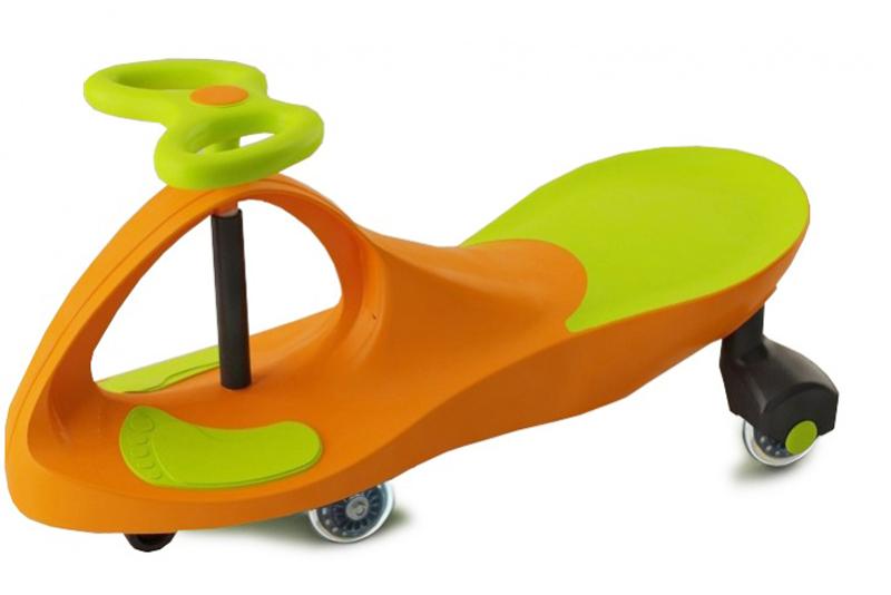 Bradex Каталка детская Бибикар цвет салатовый оранжевый -  Каталки, понициклы