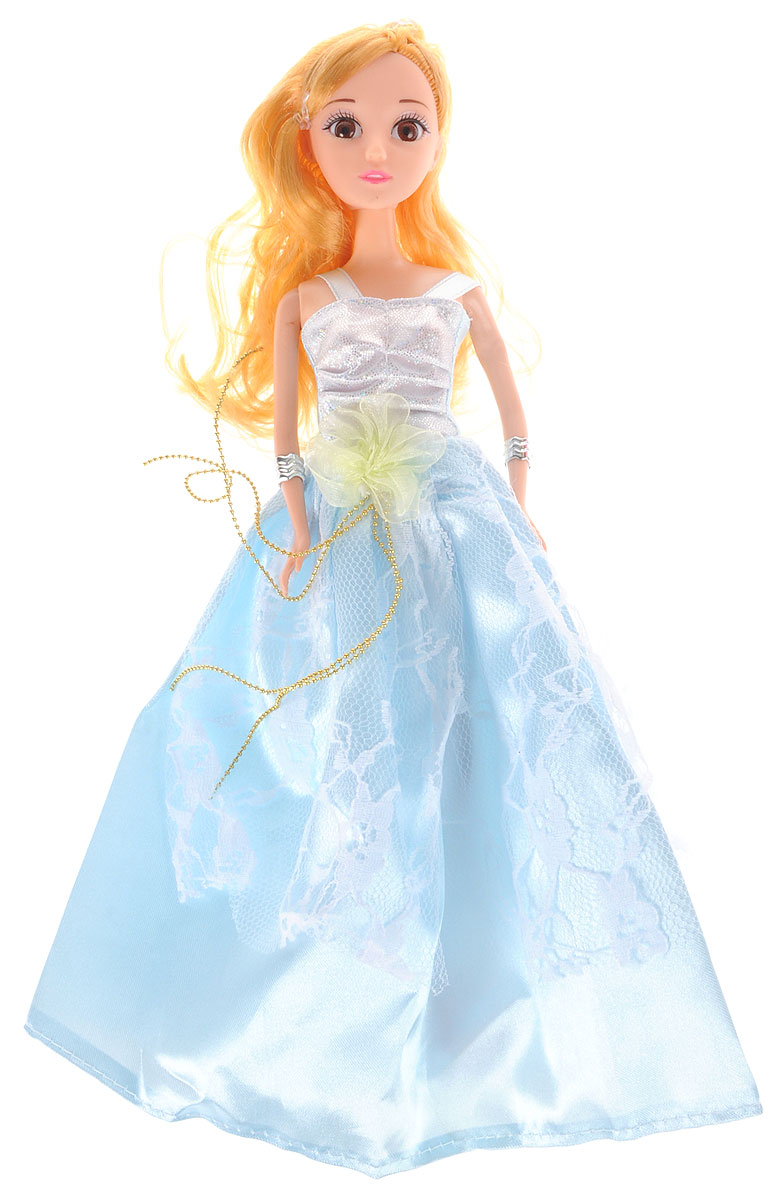 Veld-Co Кукла Принцесса цвет платья голубой
