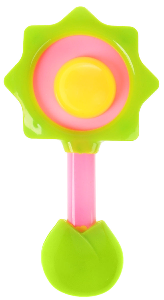 Ути-Пути Погремушка цвет салатовый розовый желтый цена