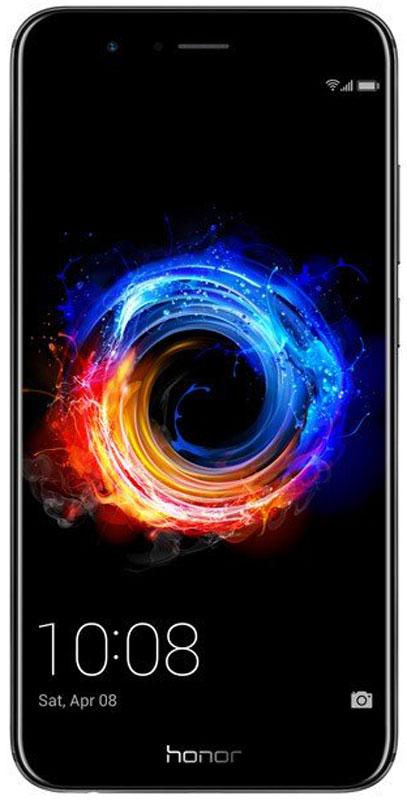 Huawei Honor 8 Pro, Black51091LMKHuawei Honor 8 Pro - воплощение минималистичного дизайна. Тонкий металлический корпус (всего 6,97 мм) скрывает более 1 000 компонентов смартфона.Данная модель отличается высокой эргономичностью и удобно лежит в руке. Корпус смартфона гладкий и ровный, двойная основная камера не выступает за его пределы и лаконично встроена в поверхность корпуса.Новейший 8-ядерный процессор Kirin 960 (на 18%) и графический процессор Mali-G71 (на 180%) мощнее процессоров, используемых в предыдущих моделях. 6 ГБ оперативной памяти обеспечивают высочайшую производительность игр и приложений на Honor 8 Pro.API Vulkan – лучшее решение для игр на мобильных устройствах.Скорость обработки изображений и визуальных эффектов интерфейса у API Vulkan намного выше, чем у его предшественника Open GL. API Vulkan повышает возможности графического рендеринга и обработки данных смартфона. Производительность графики на смартфоне увеличена на 400%. Это позволяет играть в любые игры без задержек.Создатели интерфейса EMUI 5.1 вдохновились богатством красок Эгейского моря. В инновационном интерфейсе EMUI 5.1 используются самые современные функции и технологии, принципиально новые элементы, возможности персональной настройки.Высокоемкая батарея 4 000 мАч и новейшая система энергосбережения Smart Power пятого поколения обеспечивают до 2 дней обычного использования или до 1,44 дней интенсивного использования смартфона без подзарядки.Двойная основная камера 12 Мпикс Honor 8 Pro обеспечивает высочайшее качество фотосъемки. Два объектива камеры – монохромный и RGB, объединяясь, создают ещё более профессиональные и яркие фотографии. Режим широкой диафрагмы позволяет использовать эффект размытия фона как в режиме фотосъемки, так и на видеозаписи.Телефон сертифицирован EAC и имеет русифицированный интерфейс меню и Руководство пользователя.