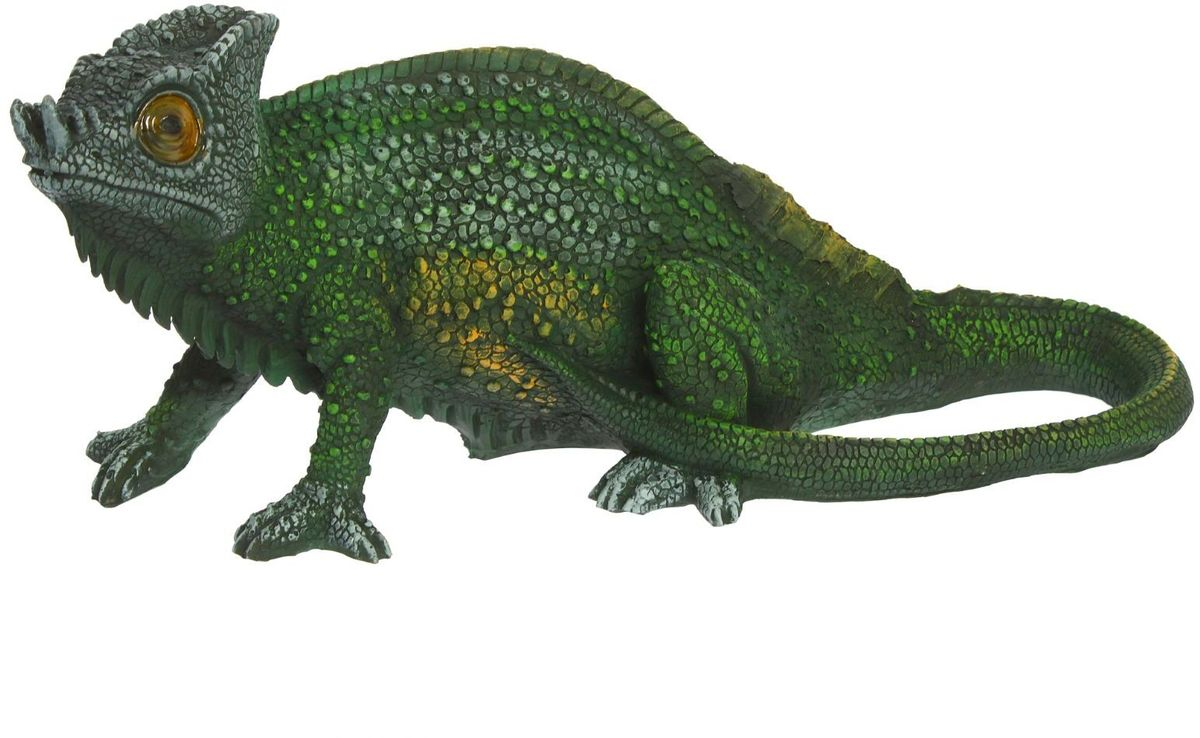 Фигура садовая Игуана, 62 х 22 х 21 см фигура садовая лягушка под мухомором 12 х 25 х 30 см