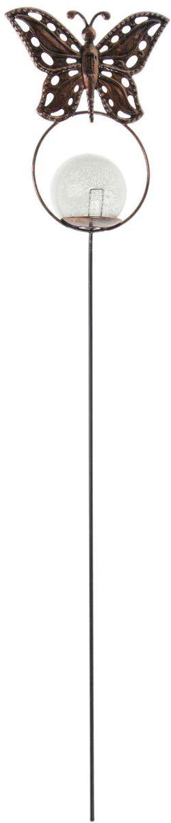 Украшение декоративное садовое Бабочка, светящееся в темноте, цвет: черный, высота 51 см1262136Летом практически каждая семья стремится проводить больше времени за городом. Прекрасный выбор для комфортного отдыха и эффективного труда на даче, который будет радовать вас достойным качеством.