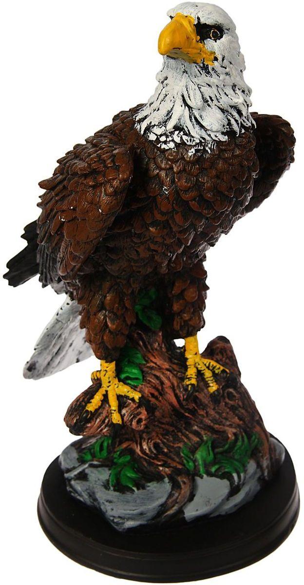 Фигура садовая Premium Gips Орел на подставке, 18 х 14 х 32 см1423168Садовая фигурка Орел на подставке символизирует свободу и величие. Фигура царственной птицы придаст ощущение простора и воодушевления.Проявите себя в роли ландшафтного дизайнера. Расставляйте акценты с помощью садового декора: например, чтобы привлечь внимание к клумбе, поставьте фигуру рядом с ней.