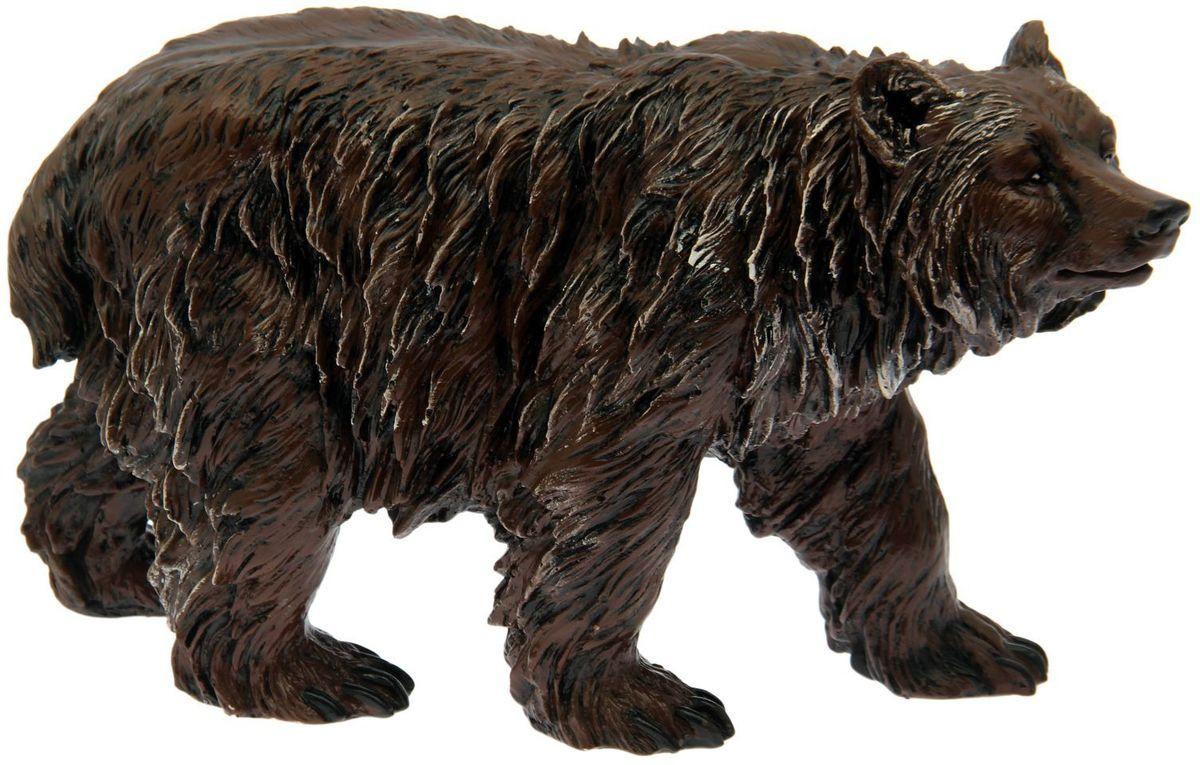 Фигура садовая Premium Gips Медведь бурый, 57 х 19 х 35 см1807441Садовая фигурка Медведь бурый станет верным другом и охранником вашего участка. Он такой большой и сильный, что сможет стать своеобразным символом и оберегом участка. Установите мишку у входа в дом, либо между деревьями, чтобы он гармонично смотрелся на фоне естественной природы.