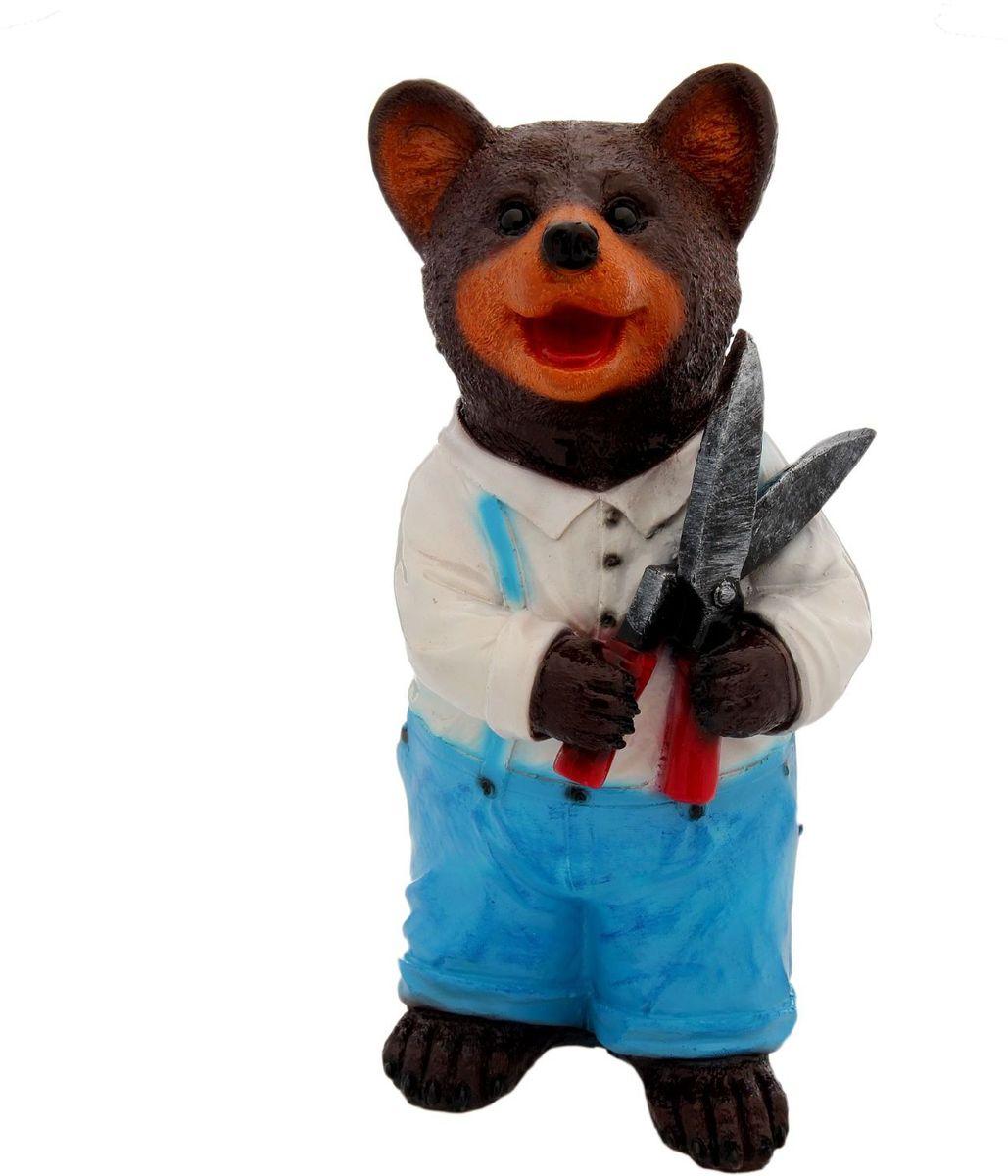 Фигура садовая Premium Gips Медведь с ножницами, 16 х 16 х 34 см2226821Летом практически каждая семья стремится проводить больше времени за городом. Прекрасный выбор для комфортного отдыха и эффективного труда на даче, который будет радовать вас достойным качеством.