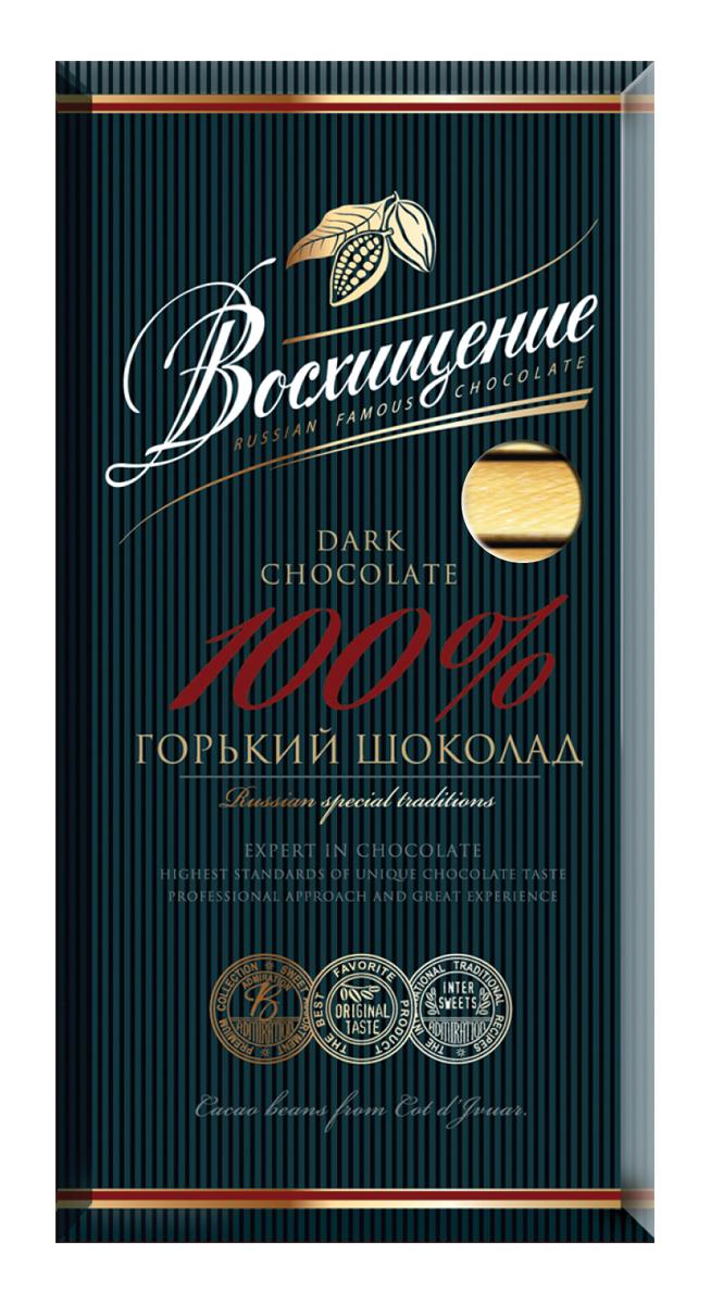 Волшебница Восхищение шоколад горький 100 % какао, 140 г волшебница волшебная белочка шоколад 80 г