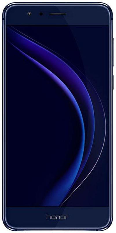 Huawei Honor 8 64GB, Blue51090SKGТонкий корпус Huawei Honor 8 со стеклом 2.5D и закруглённой алюминиевой рамкой удобно лежит в руке. Дизайн с эффектом 3D-гравировки непременно обратит на себя внимание.Камера оснащена двумя датчиками - RGB и чёрно-белой съемки с размером пикселя 1,25 нм. Два объектива основной камеры с разрешением 12 Мпикс повышают качество и детализацию снимков, делая изображения сверхреалистичными. Три типа фокусировки позволяют делать великолепные макроснимки и превосходные фотографии в условиях низкой освещённости.Гибридный автофокус использует технологию лазерной фокусировки находясь на близком расстоянии от объекта съёмки, глубокий фокус при съёмке далеко расположенных объектов и контрастный фокус в условиях плохого освещения.Благодаря новой технологии 3D-сканирования отпечатка пальца, разблокировка телефона занимает всего 0,4 секунды. Сканер обеспечивает высокую скорость управления и максимальную защиту данных телефона. Жесты управления открывают новые возможности работы с телефоном.Honor 8 оснащён 8-ядерным процессором 2,3 ГГц с архитектурой 16 нм. 4 ГБ LPDDR4 RAM обеспечивают поддержку одновременного выполнения нескольких задач.Чипсет оснащён сопроцессором i5, который осуществляет контроль датчиков Honor 8, значительно повышая скорость работы процессора Kirin 950 SoC, сокращая время отклика и продлевая время работы батареи.Full HD-экран диагональю 5,2-дюйма поддерживает технологию динамической настройки яркости пикселей. Режим защиты зрения, снижающий уровень УФ-излучения экрана, предотвращает усталость глаз при длительном использовании смартфона.Батарея 3000 мАч и технология энергосбережения Smart Power 4.0 обеспечивают до 1,77 дня работы при обычном и до 1,22 при интенсивном использовании. Например, на Honor 8 вы сможете смотреть онлайн-видео в течение 11 часов подряд!Honor 8 автоматически выбирает доступную соту с самым сильным сигналом, обеспечивая стабильный приём сигнала сети. В телефоне предустановлена глобальная база операторов мобил