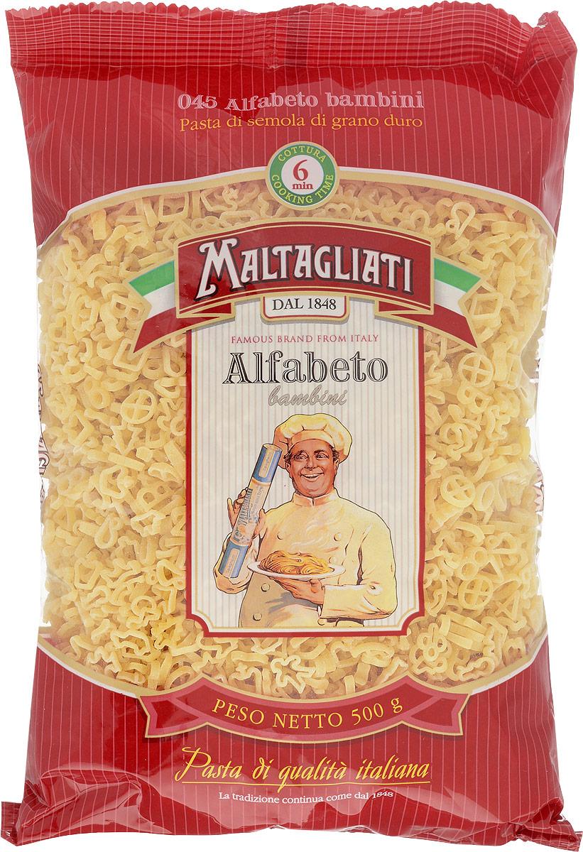 Maltagliati Alfabeto Алфавит макароны, 500 г maltagliati barbine nidi клубки вермишель макароны 500 г
