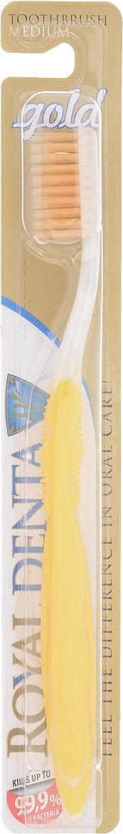 Royal Denta Зубная щетка Gold с наночастицами золота5555GOLD Medium – зубная щетка средней жесткости с наночастицами золота