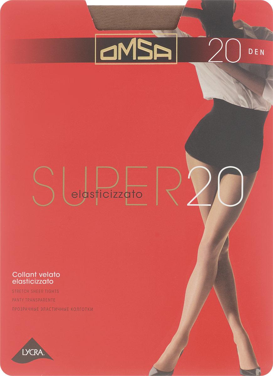 Колготки классические Omsa Super 20. Daino (бежевый). Размер 2