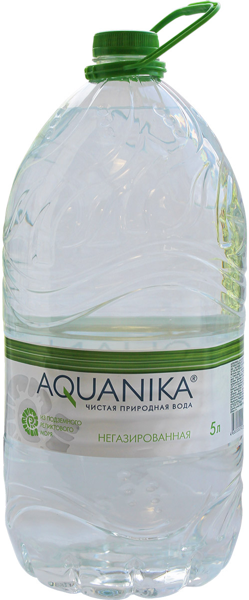 Акваника вода негазированная, 5 л volvic вода минеральная негазированная 0 5 л