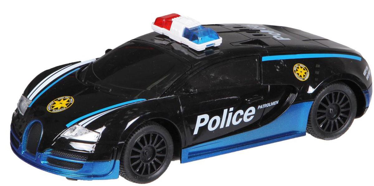 Yako Машина на радиоуправлении Police цвет черный