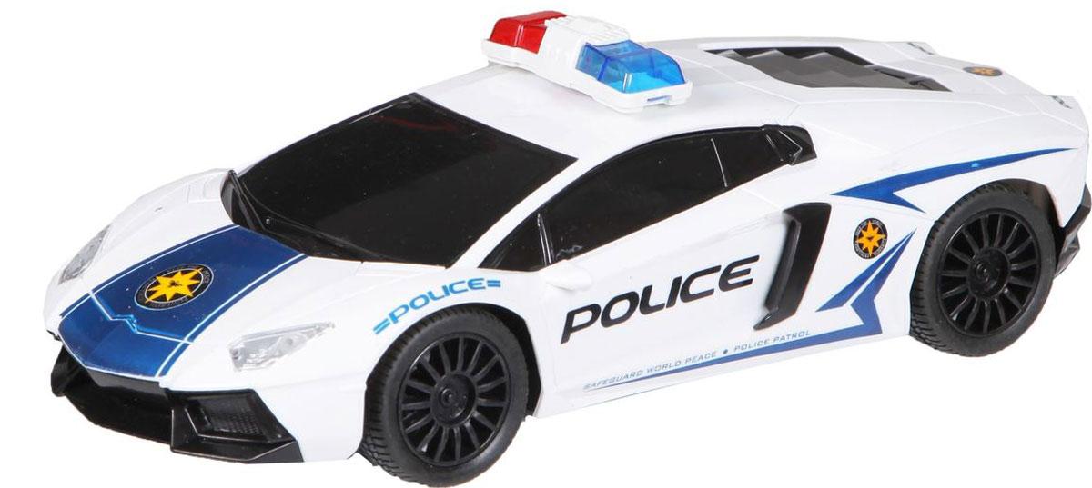 Yako Машина на радиоуправлении Police цвет белый