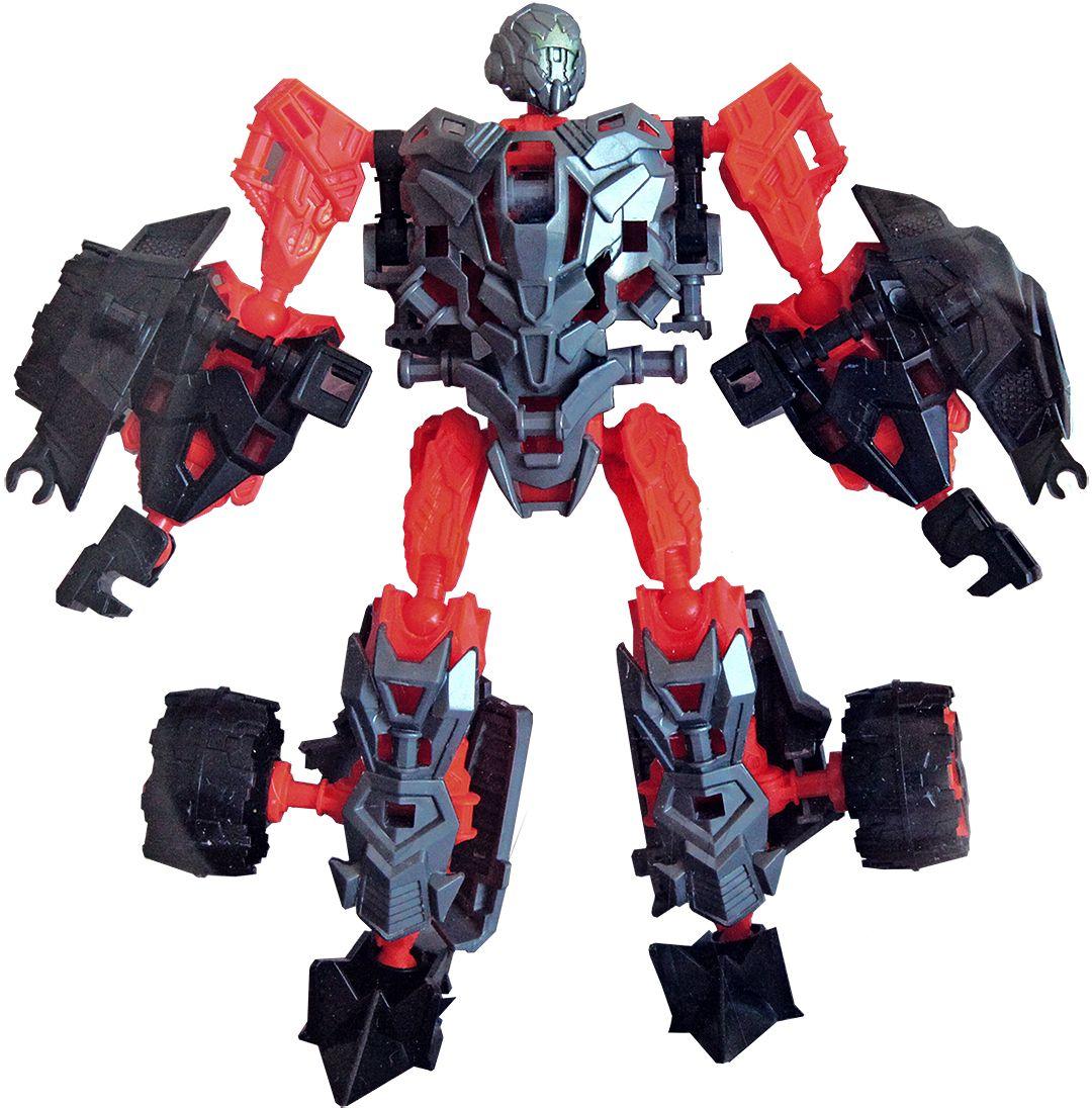 Deformation Warrior Робот-трансформер цвет красный серый 100946279
