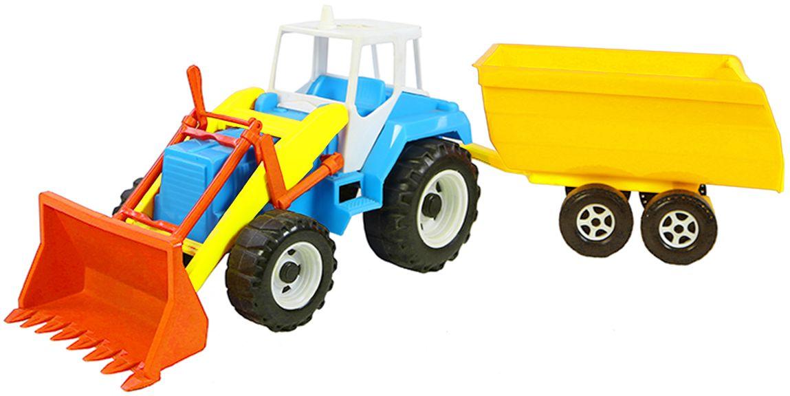 Орион Трактор Тигр с прицепом мир отечественных моделей трактор мтз 82 с прицепом