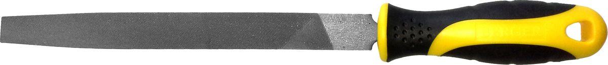 Напильник Berger, плоский, с рукояткой, 200 ммBG1150Слесарный напильник Berger предназначен для опиливания различных поверхностей. Изготовлен из высококачественной стали, обеспечивающей прочность и износостойкость изделия. Напильник оснащен эргономичной рукояткой.Длина напильника: 20 см.