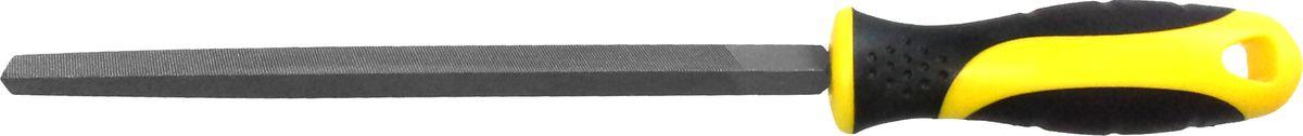 Напильник Berger, трехгранный, с рукояткой, 200 ммBG1152Слесарный напильник Berger предназначен для опиливания различных поверхностей. Изготовлен из высококачественной стали, обеспечивающей прочность и износостойкость изделия. Напильник оснащен эргономичной рукояткой. Длина напильника: 20 см.
